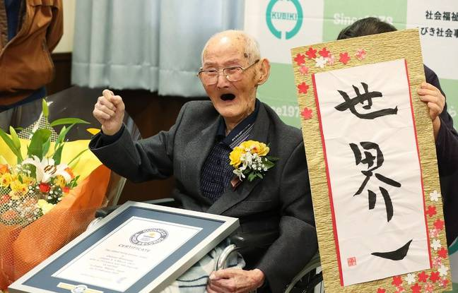Japon: Chitetsu Watanabe, l'homme le plus vieux du monde, meurt à 112 ans
