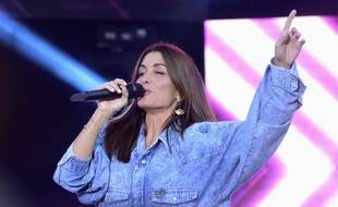 La chanteuse Jenifer.