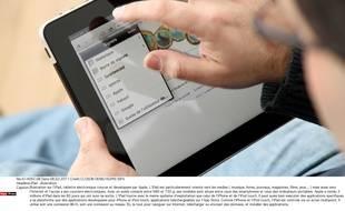 L'iPad, tablette électronique conçue et développée par Apple.