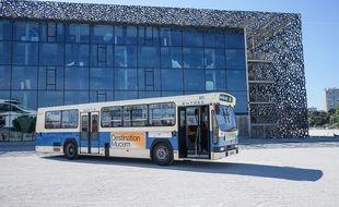 Le bus de la RTM datant de 1978 pour l'opération