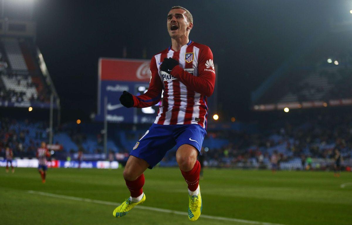 Antoine Griezmann, l'attaquant de l'Atlético Madrid, le 14 janvier 2016. –  Francisco Seco/AP/SIPA