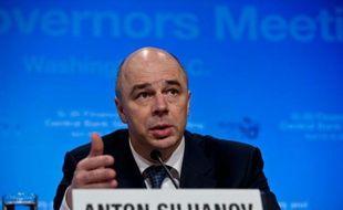Le ministre russe des Finances Anton Siluanov, le 19 avril 2013 à Washington