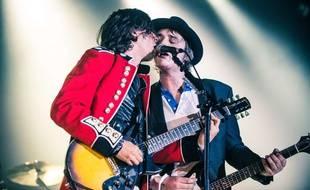 Les Libertines en concert à Londres le 26 septembre 2014