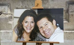 Une photo de Jean-Baptiste Salvaing et sa compagne, Jessica Schneider.