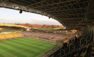 Le stade de la Beaujoire peut accueillir 35.000 spectateurs