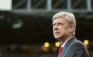 Arsène Wenger le 29 décembre 2013 face à Newcastle