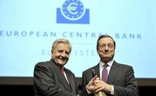 Le tout nouveau chef de la Banque centrale européenne (BCE) Mario Draghi passe jeudi son baptême du feu, en présidant sa première réunion mensuelle du conseil des gouverneurs, dans une zone euro en pleine tourmente et en parallèle du sommet du G20 à Cannes.