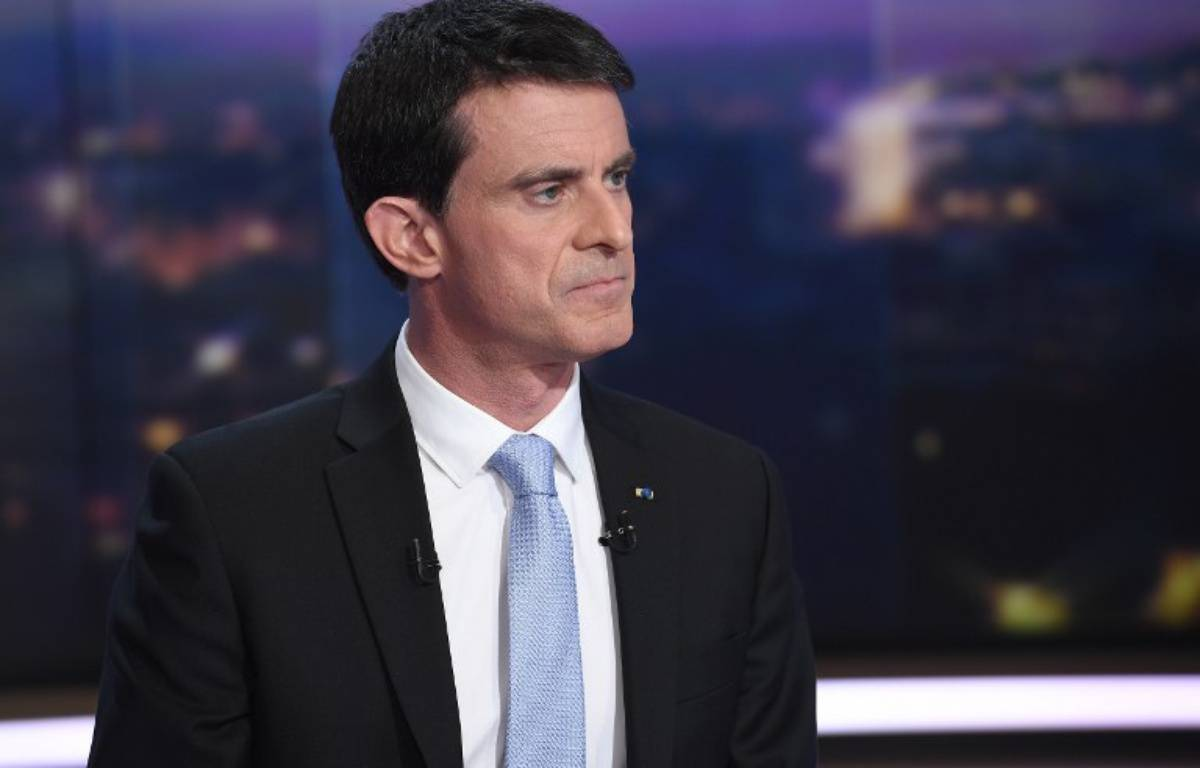 Manuel Valls – Lionel BONAVENTURE / AFP
