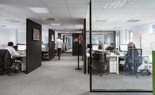 Les bureaux d'iAdvize sur l'île de Nantes.