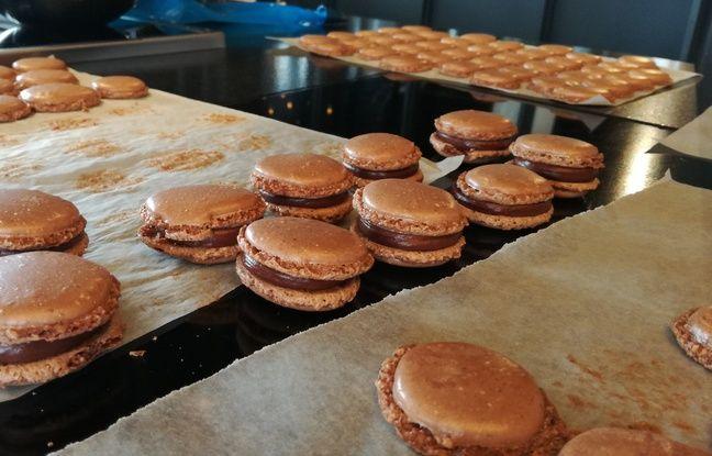 Le pâtissier Sève a accueilli 20 Minutes dans son laboratoire de Limonest, près de Lyon, pour dévoiler sa recette de macaron.