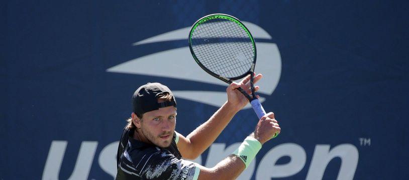 Lucas Pouille, à l'US Open