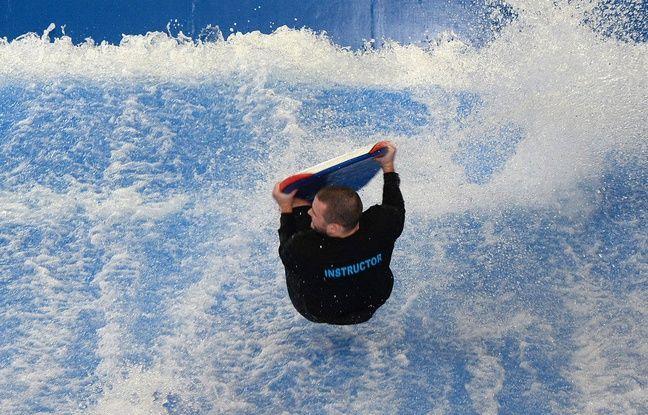 """Lyon: La «plus grande vague de surf """"indoor"""" d'Europe» prévue pour septembre à côté du Parc OL"""