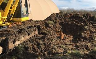 L'engin explosif a été découvert lors d'un chantier de dépollution pyrotechnique.