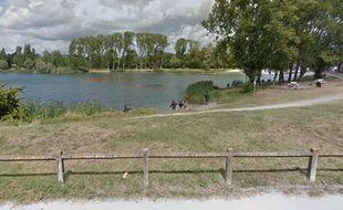 Le lac de Bègles.