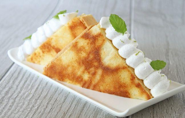 La tarte au citron façon club-sandwic du blog Surprises et Gourmandises