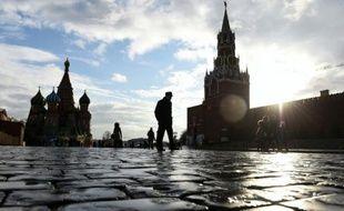 La Place Rouge à Moscou.