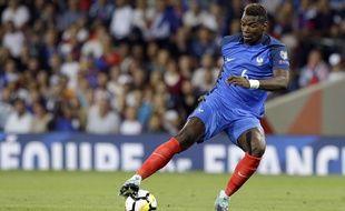 Paul Pogba lors du match France-Luxembourg en éliminatoires de la Coupe du monde 2018, le 3 septembre 2017.