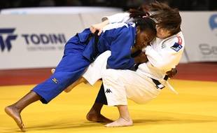 Clarisse Agbegnenou est championne du monde en -63 kg.