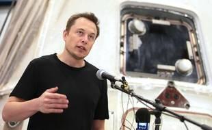 Le milliardaire Elon Musk, patron de Tesla Motors.