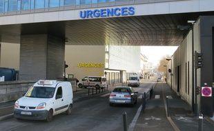 Les urgences du CHU de Nantes.