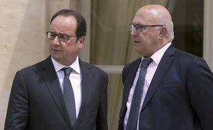 François Hollande et Michel Sapin
