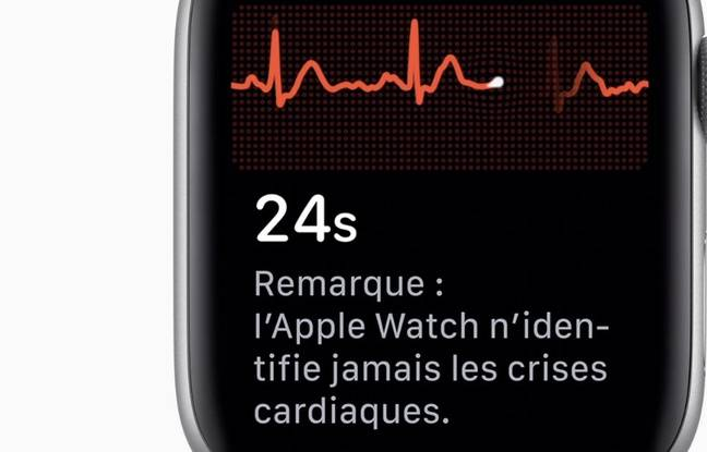 L'Apple Watch Series 4 peut désormais réaliser des électrocardiogrammes.