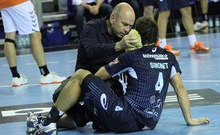 Diego Simonet s'est blessé dimanche à Tremblay