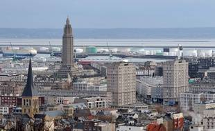 Le centre-ville reconstruit du Havre, illustration.