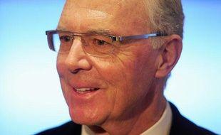 Franz Beckenbauer, président d'honneur du Bayern Munich, le 27 février 2013.