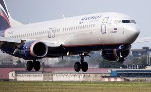 (Illustration) La compagnie aérienne russe Aeroflot.