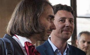 Benjamin Griveaux et Cédric Villani en 2017