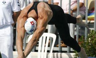 Le nageur Alain Bernard, à l'Open de Paris, le 3 août 2007.