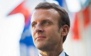 Emmanuel Macron, le ministre de l'Economie, le 19 septembre 2015.