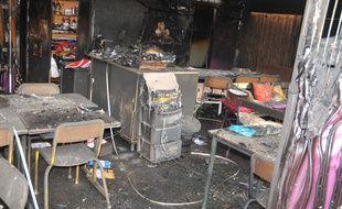 L'école des Tamaris à Béziers incendiée le soir d'Halloween