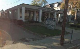 Le bâtiment, à Binghamton, dans l'Etat de New York, où le forcené retient une quarantaine d'otages.