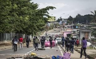 Des violences ont éclaté à Libreville le 1er septembre 2016