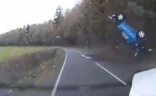 Accident de la route au Royaume-Uni