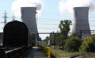La centrale de Tricastin à Pierrelatte le 28 septembre 2010
