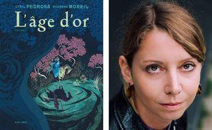 Couverture de L'âge d'or et portrait de Roxanne Moreil