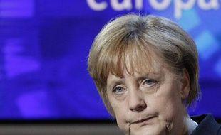 Angela Merkel à Berlin le 6 mai 2010.