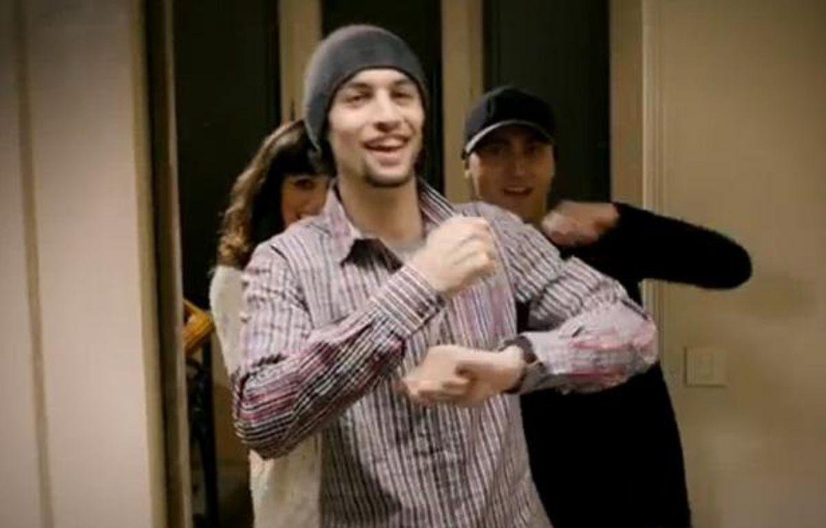 L'attaquant du PSG Javier Pastore, dans un clip musical du chanteur italien Beenzo. – Capture d'écran/20minutes