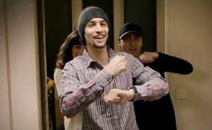 L'attaquant du PSG Javier Pastore, dans un clip musical du chanteur italien Beenzo.
