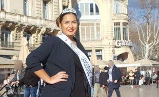Adélaïde Taouni représente le Languedoc-Roussillon en finale de miss Curvy samedi