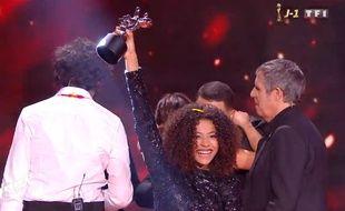 Whitney a remporté la finale de la 8e édition de «The Voice», le 6 juin 2019, sur TF1.