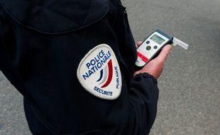 Un homme de 35 ans a été contrôlé à Toulouse avec 2,62 grammes d'alcool par litre de sang. Illustration.