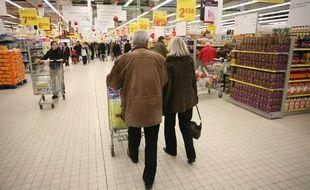 L'homme a tenté d'enlever une fillette de 3 ans dans les allées d'un supermarché de Haute-Savoie. (Illustration)