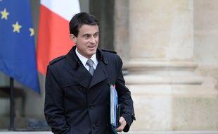 Manuel Valls à L'Elysée le 1er juin 2016
