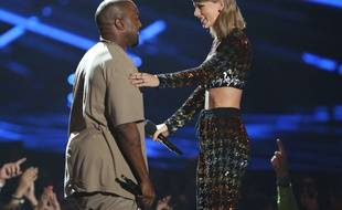 Le temps de l'entente entre Kanye West et Taylor Swift, ici aux MTV Video Music Awards en août 2015, semble révolu.