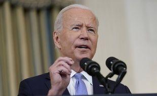 Le président américain Joe Biden a parlé de la vaccination contre le Covid-19 et des migrands expulsés à la frontière avec le Mexique vendredi 24 septembre 2021.