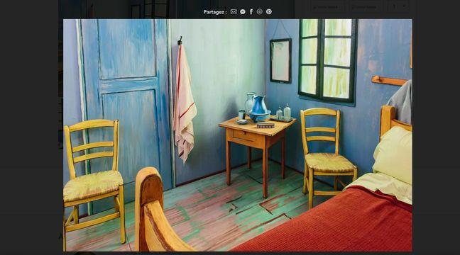 Vous Pouvez Desormais Passer Une Nuit Dans La Chambre De Van Gogh